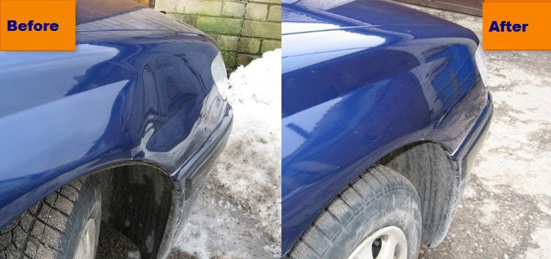 Paintless Dent Repair >> Car Dent Repair Pictures Before And After at MichaelKnows – DIY Car Repair Questions and Answers