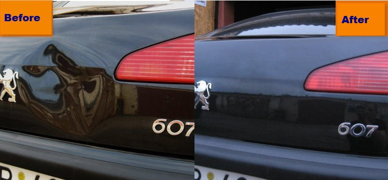 Car Dent Repair Pictures Before And After At Michaelknows