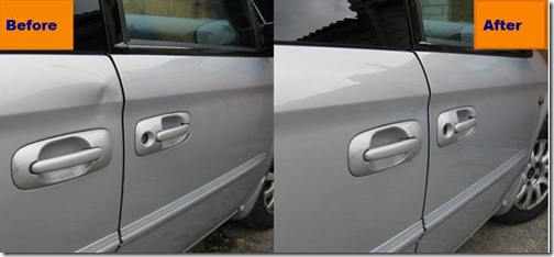 Car Dent Repair Pictures Before And After