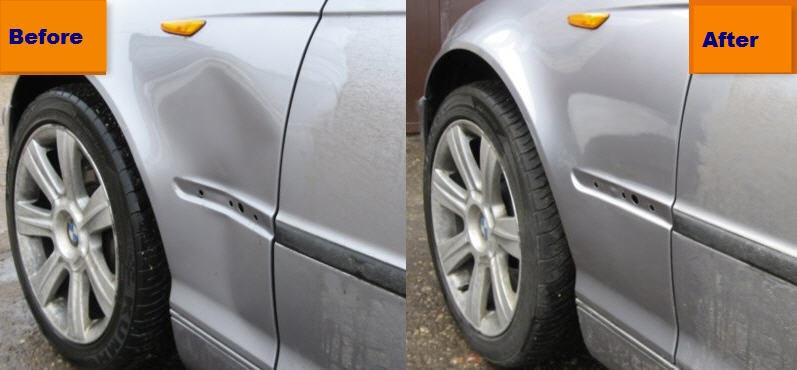 Car Dent Repair Pictures Before And After At Michaelknows Diy Car Repair Questions And Answers